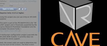 news_Unity-VRCave